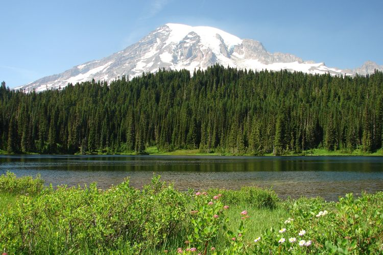 Mt. Rainier, Reflection Lake