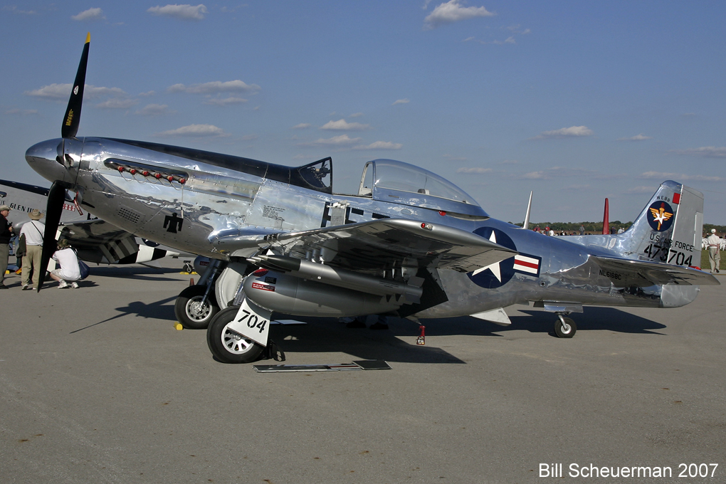 FF704 P-51 Mustang