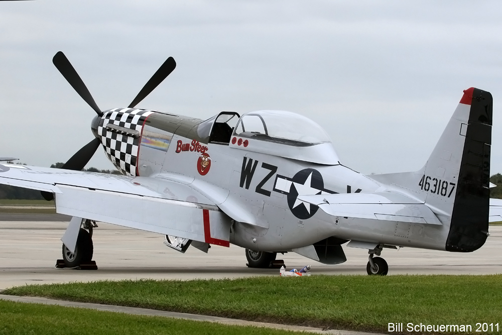 P-51 Bum Steer