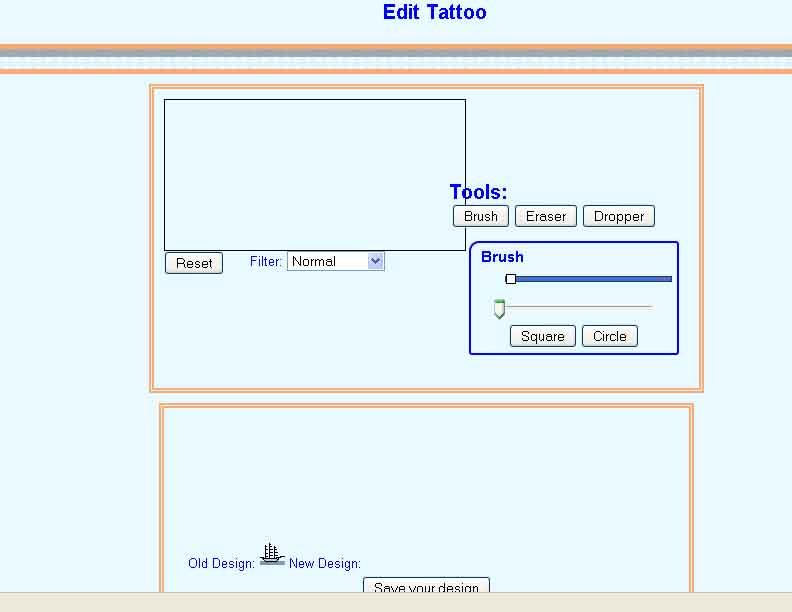 tattoo editor issue