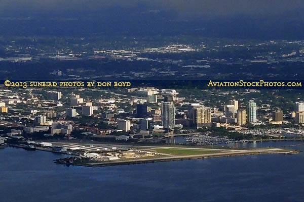 2013 - Albert Whitted Airport (SPG) aerial stock photo #0809CC