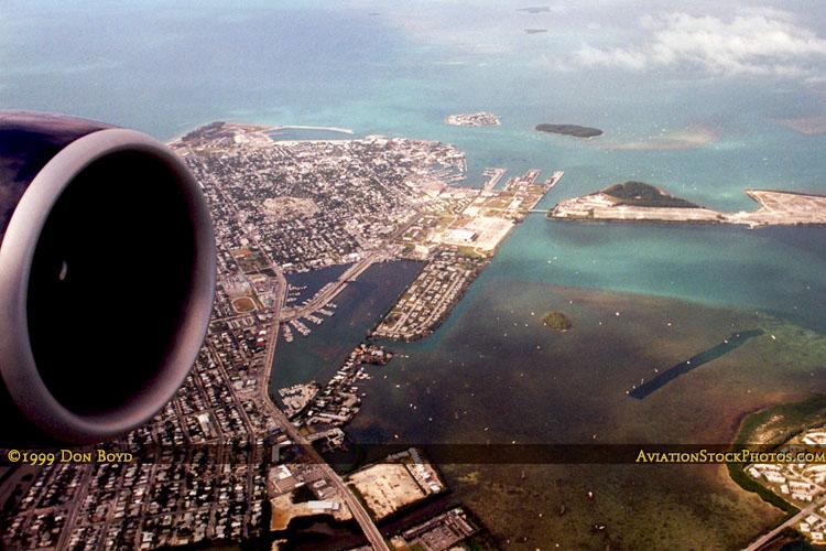 Key West, Florida aerial photo