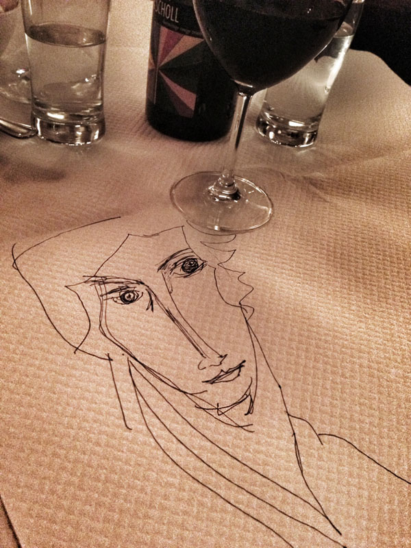 My midnight Modigliani