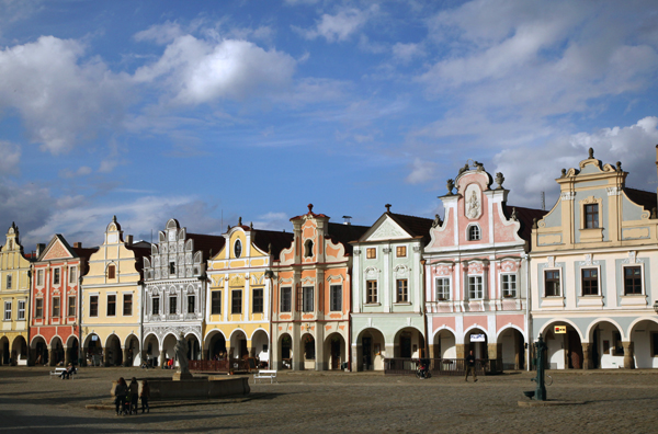 Telc - View of Town Square