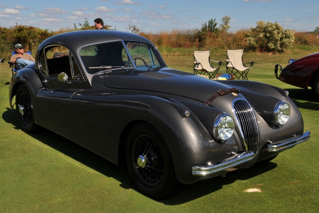 1953 Jaguar XK120 Fixed Head Coupe, George Bunting, Hunt Valley, MD (4777