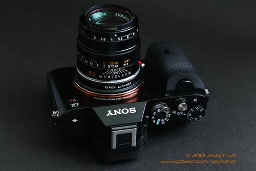 Leica 50mm f/2 Summicron <p>Perhaps working even better than the 35mm on this camera.