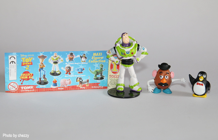 Toy Story Figurines : Here are toy story toys that you might still own and are worth