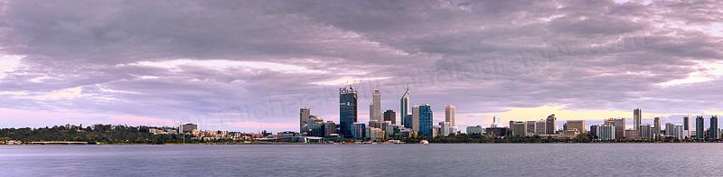 Perth Swan River Sunrise, 3rd October 2011