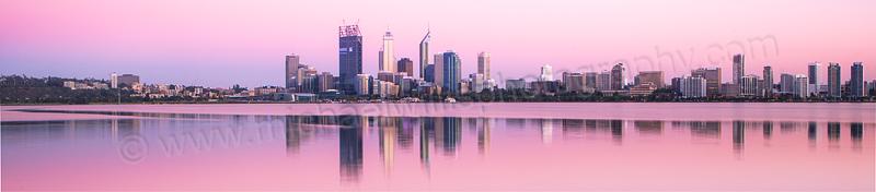 Perth Swan River Sunrise, 21st December 2011