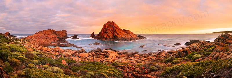 Sunrise at Sugarloaf Rock, 27th February 2012