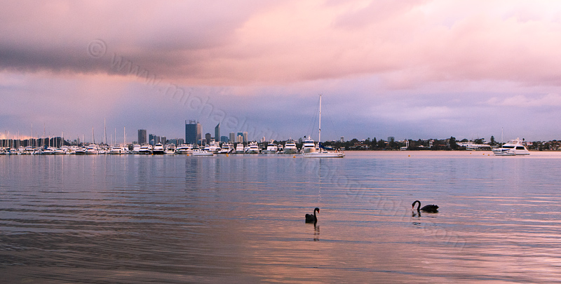 Applecross and The Swan River at Sunrise, 5th August 2013