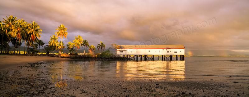 Port Douglas Sugar Wharf at Sunrise, 31st July 2014