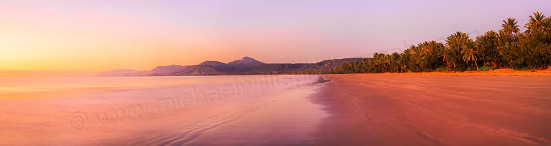 Sunrise at Four Mile Beach, Port Douglas, 1st August 2014