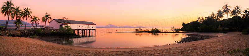 Port Douglas Sugar Wharf at Sunrise, 2nd August 2014
