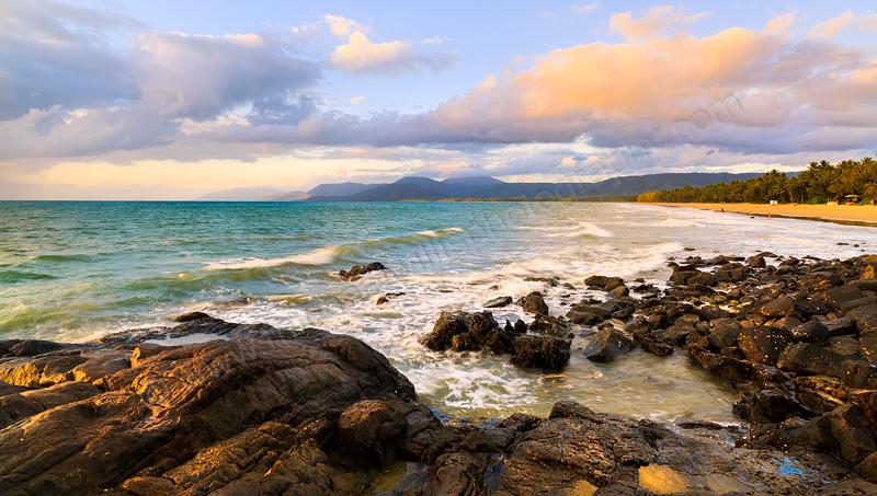Four Mile Beach at Sunrise, Port Douglas, 3rd August 2014