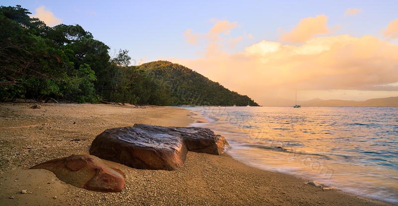 Fitzroy Island Sunrise, 5th August 2014
