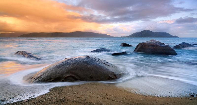 Fitzroy Island Sunrise, 7th August 2014