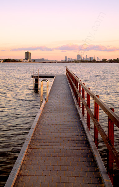 Deep Water Point Jetty at Sunrise, 1st March 2015