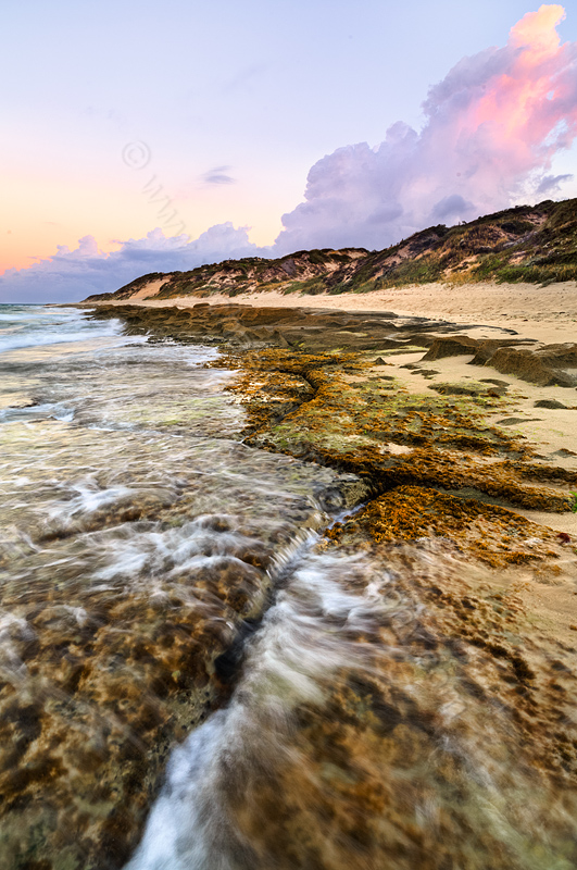Burns Beach at Sunrise, 15th March 2015
