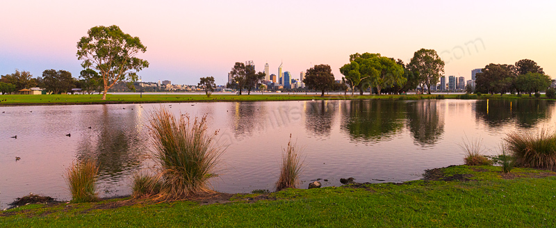 Sunrise by the Swan River, 12th March 2015