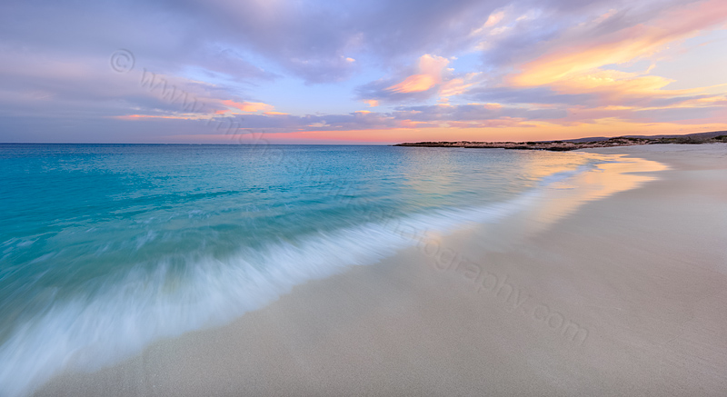 Turquoise Bay Sunrise, Cape Range National Park, 25th October 2015