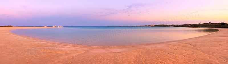 Sunrise at Coral Bay, 26th October 2015