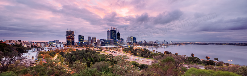 Perth Sunrise, 18th April 2016