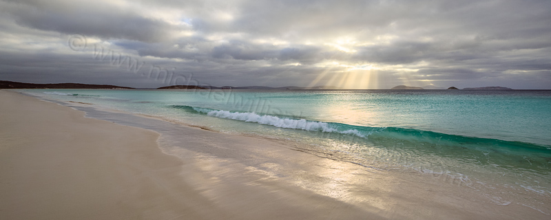 Sun Rays Over Goode Beach, Albany, 2nd May 2016