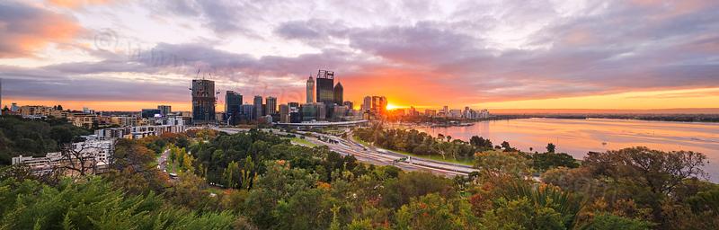 Perth Sunrise, 5th May 2016