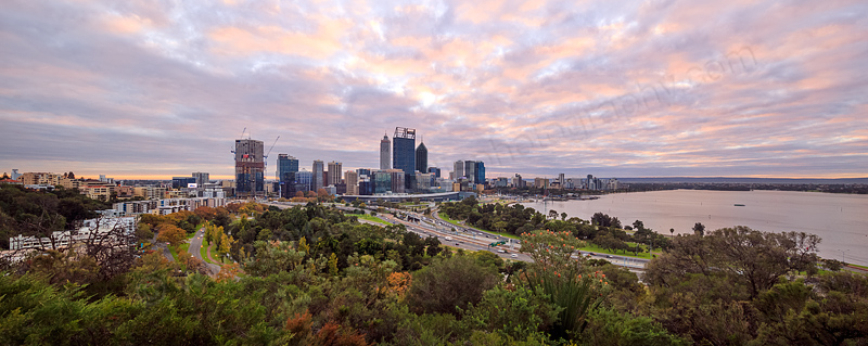 Perth Sunrise, 9th May 2016