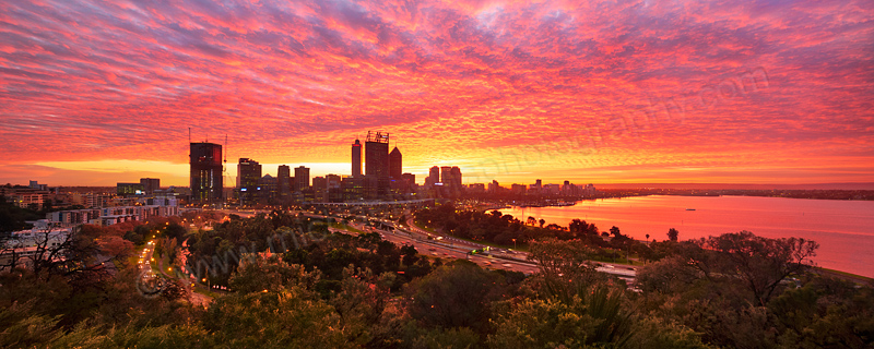 Perth Sunrise, 23rd May 2016