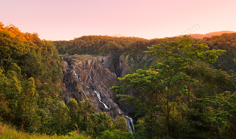 Barrron Falls at Sunrise, 12th August 2014