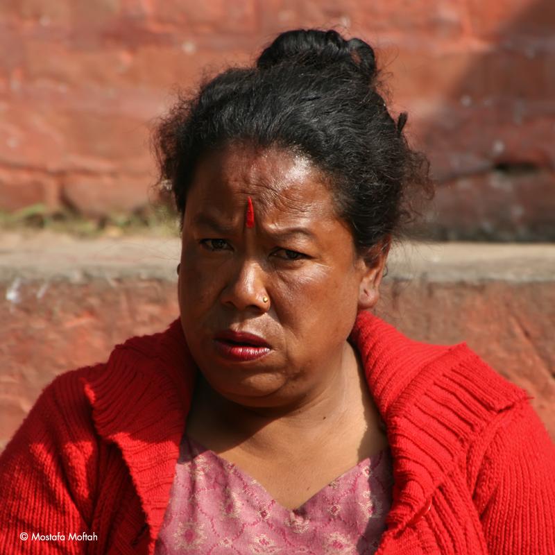 Portrait from Kathmandu