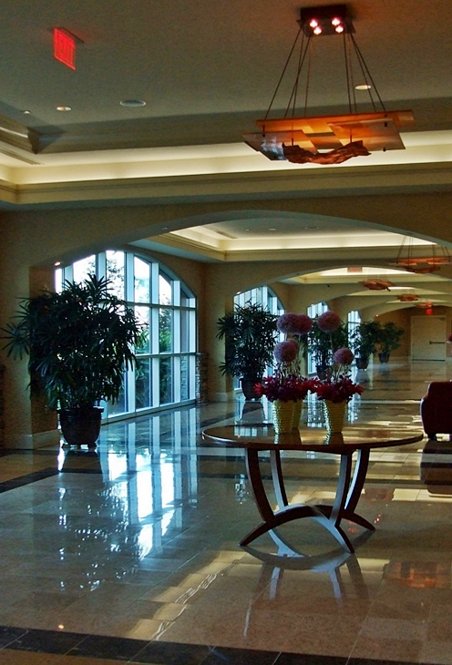 Delta Downs Hotel Lobby