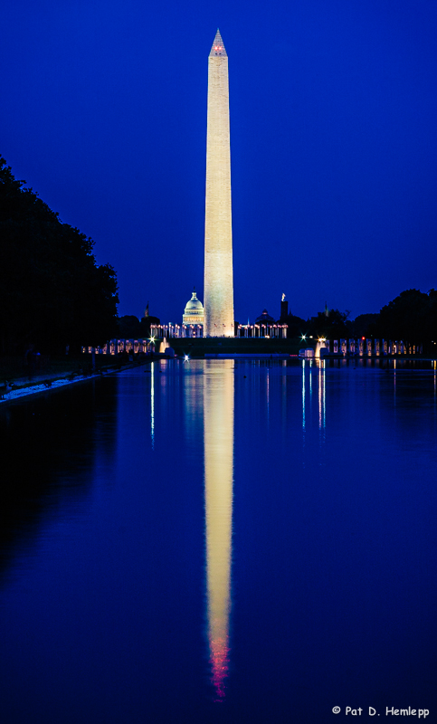 Monumental reflection
