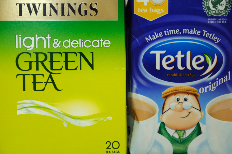 2 June: Which Tea?