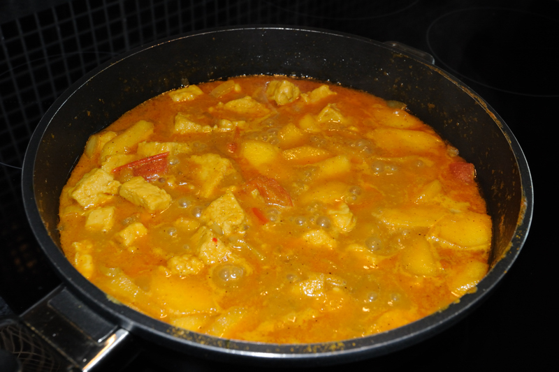 3 June: Quorn Curry