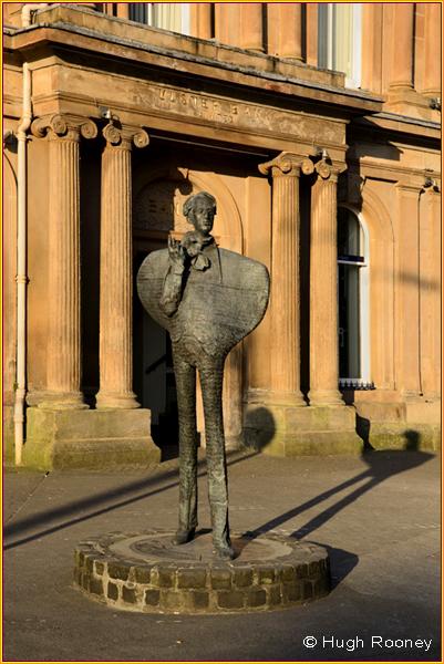 Ireland - Co.Sligo - Sligo - Statue of W.B.Yeats