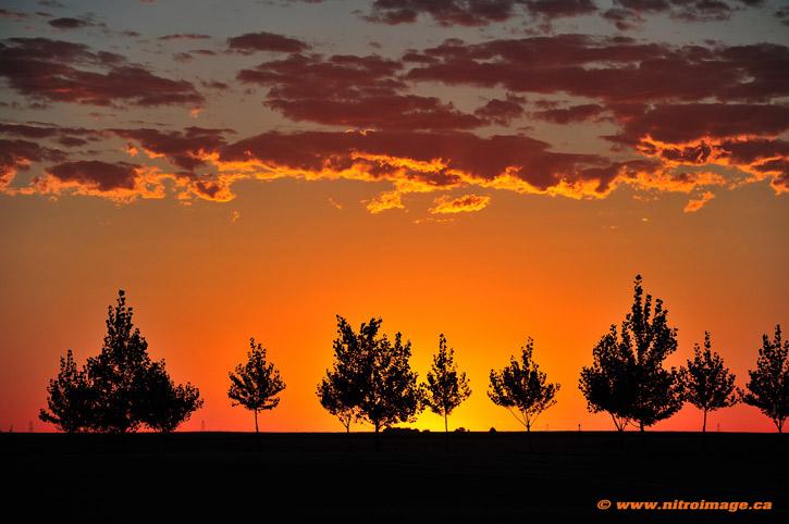 Sunrise Over South Dakota