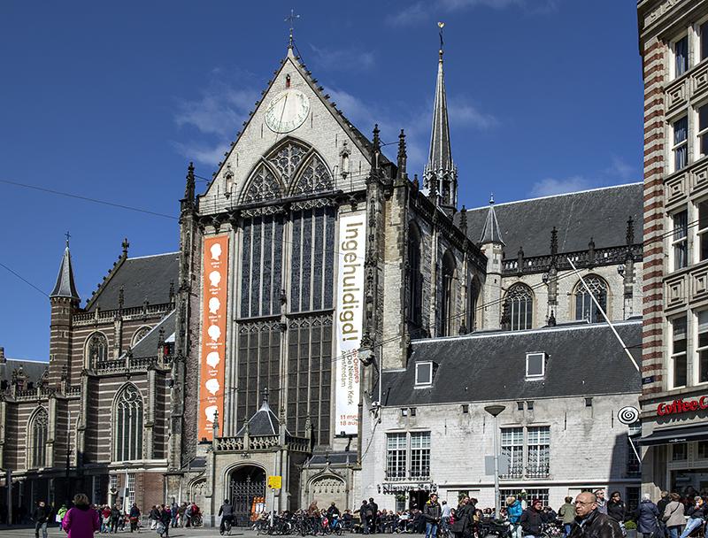 Nieuwe Kerk, Dam Square