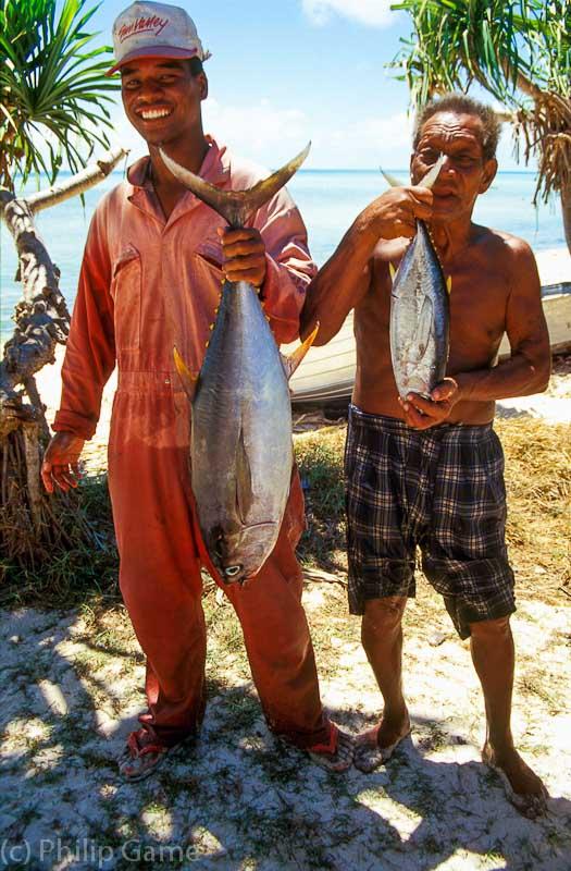 Catch of the day, Tarawa