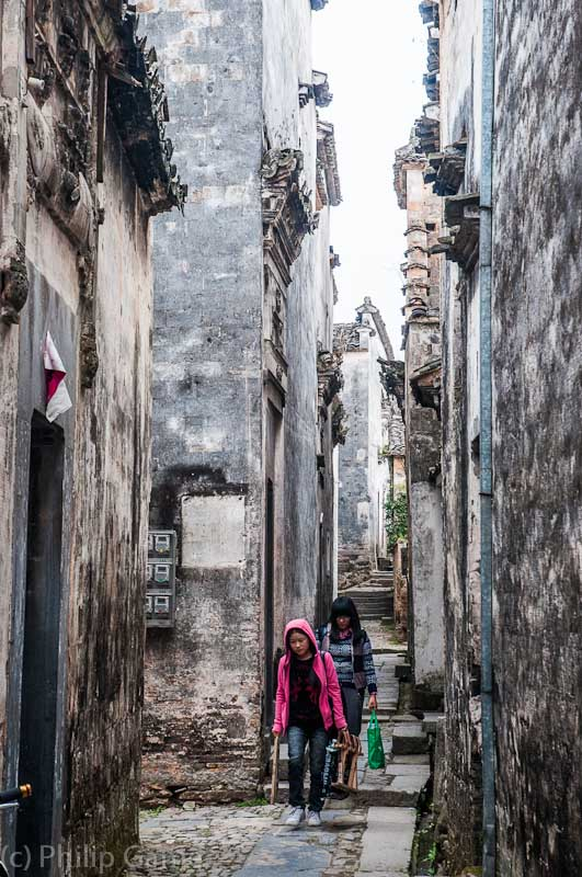 Nanping: narrow alleyways