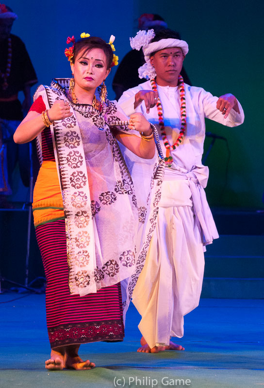 Cultural festival, Imphal, Manipur State, India