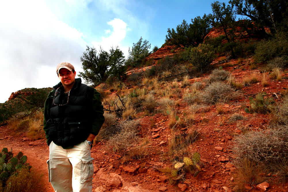 Me on the Trail in Sedona