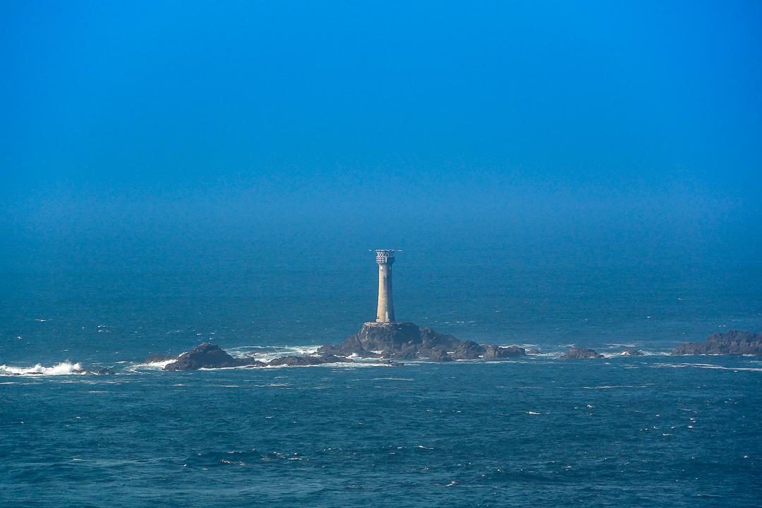 Longships lighthouse off Lands End, Cornwall