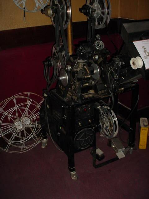 antique movie projector<br>Jerome Arizona