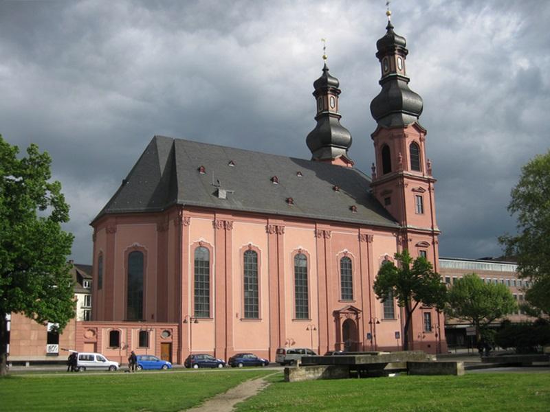 Mainz. Sank-Peter Church