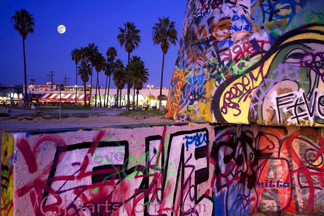 Venice Graffitti Wall