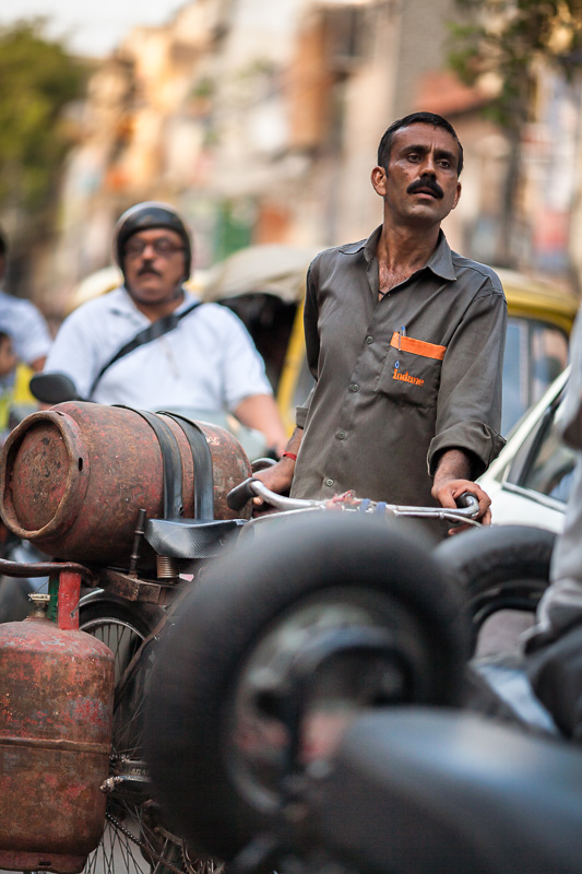 Traffic jam - Delhi