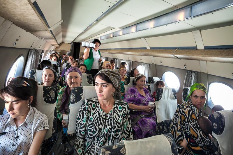 Tajik Air flight